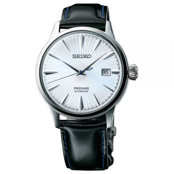 Seiko Silver Dial Presage Cocktail Automatic Watch