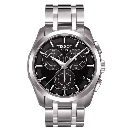 Tissot Gents Steel Chronograph Couturier Watch