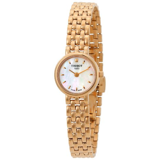 Tissot Lovely Mother of Pearl Dial Ladies Watch