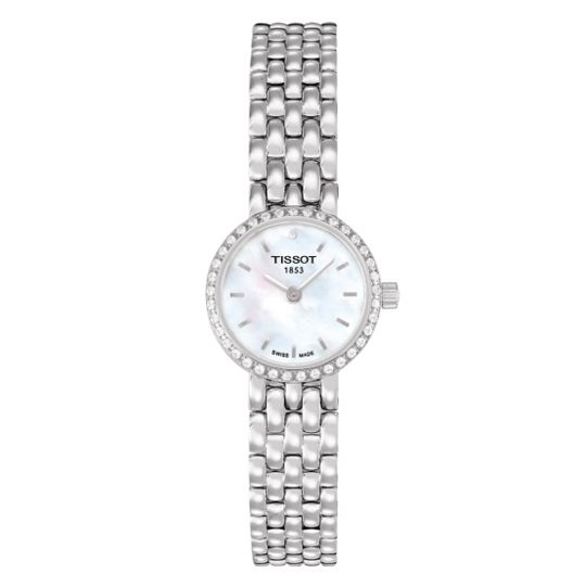 Tissot Lovely Diamond Set Mother of Pearl Watch
