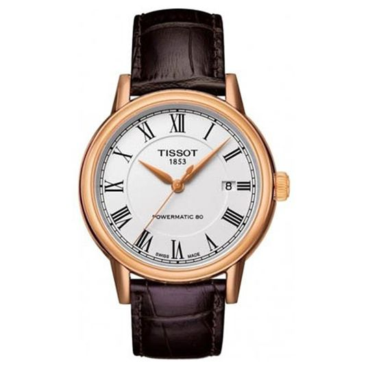 Tissot Gents Powermatic Rose Gold PVD Watch
