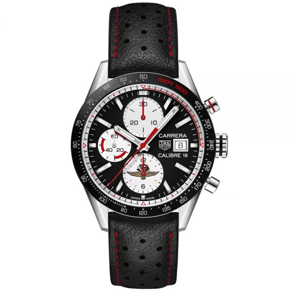 TAG Heuer Limited Edition Indy 500 Carrera Calibre 16 Chronograph Watch