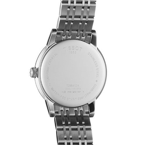 Tissot Carson Gents Watch (White/Silver)