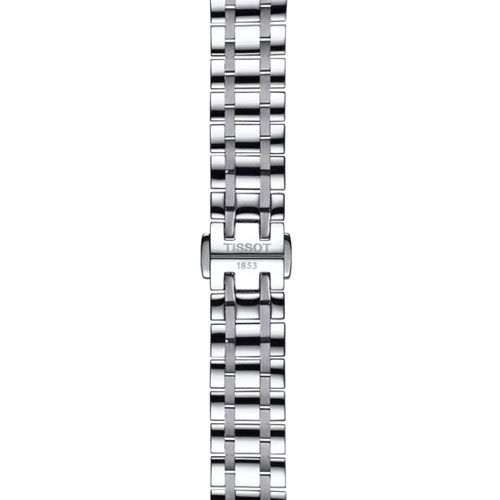 Tissot Chemin Des Tourelles Powermatic 80 Lady Watch with Mother of Pearl & Purple Rubies (Silver)
