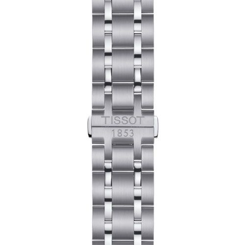 Tissot Couturier Chronograph Gents Watch (Black/Silver)