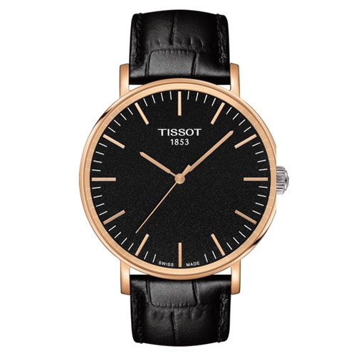 Tissot Everytime Large Gents Watch (Black/Gold/Black)