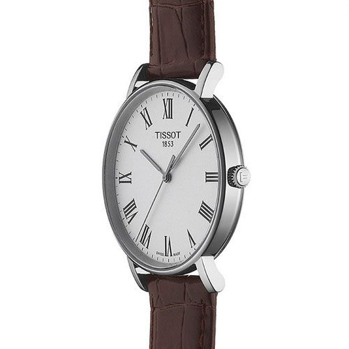 Tissot Everytime Medium Gents Watch (White/Brown)