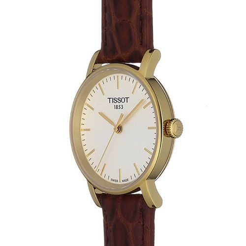 432b7fc278d Tissot Everytime Small Ladies Watch (Gold White Brown)