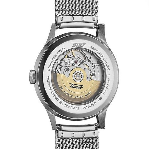 Tissot Heritage Visodate Automatic Gents Watch (White/Silver)