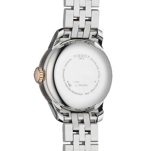 Tissot Le Locle Automatic Small Lady Watch (Rose Gold/Silver)