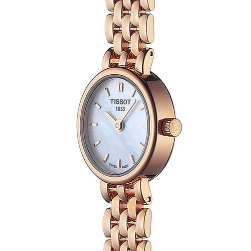 Tissot Lovely Ladies Watch with Mother of Pearl (Gold)