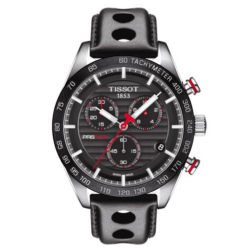 Tissot PRS 516 Chronograph Gents Watch (Black)