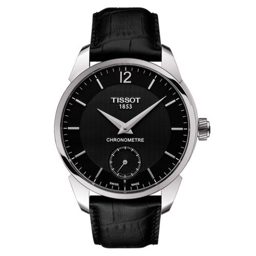 Tissot T-Complication Mechanical COSC Gents Watch (Black/Silver)