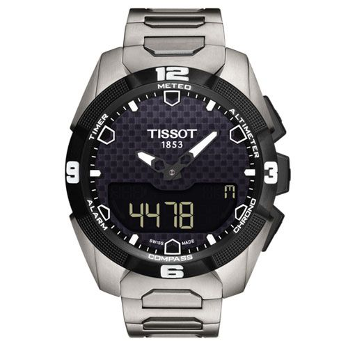 Tissot T-Touch Expert Solar Gents Watch (Black/Silver)