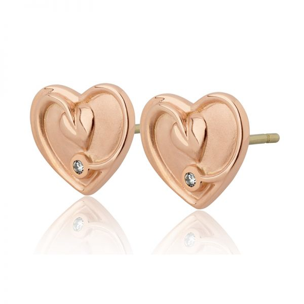 Clogau Tree of Life Diamond Earrings