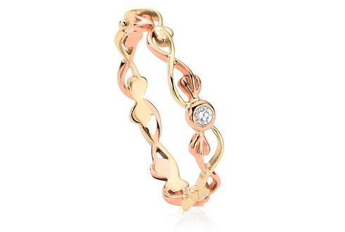 Clogau Tree of Life Diamond Stacking Ring