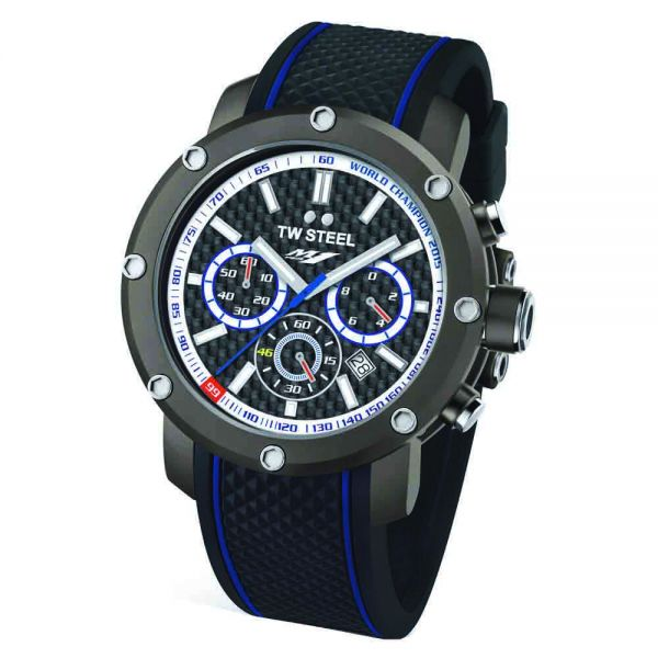 TW Steel Yamaha Factory Racing Triple Crown 48mm Limited Edition Watch