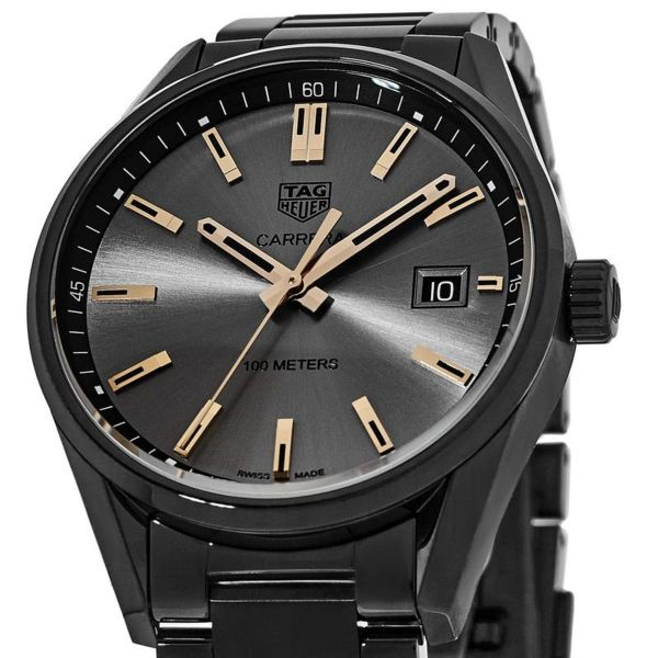 TAG Heuer Carrera Special Edition Black & Rose Gold and Ladies Watch