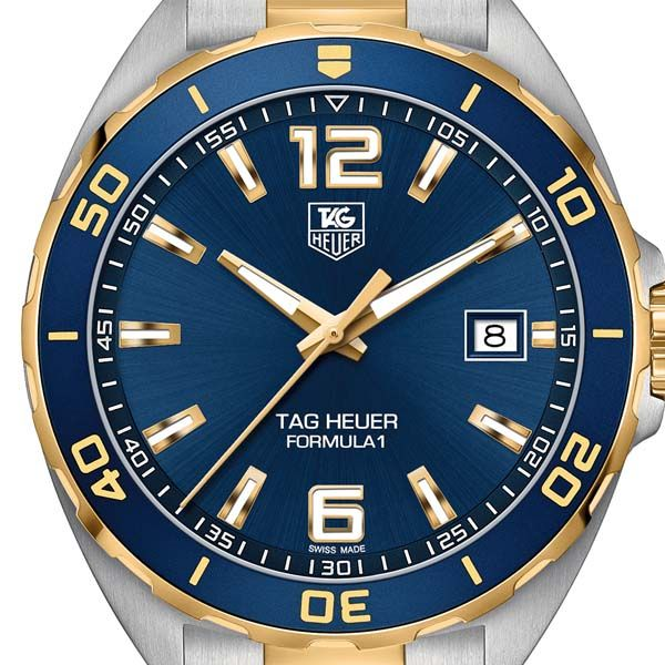 TAG Heuer Mens Formula 1 Stainless Steel & Yellow Gold Plated Watch