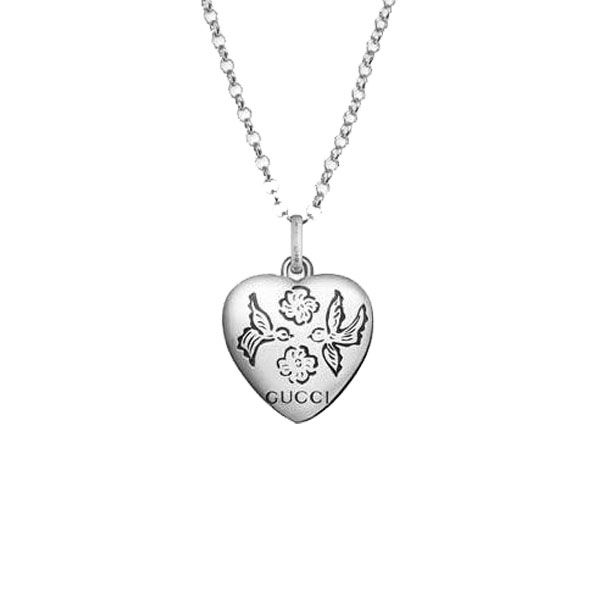 4447690d Gucci Blind for Love Heart Charm Necklace