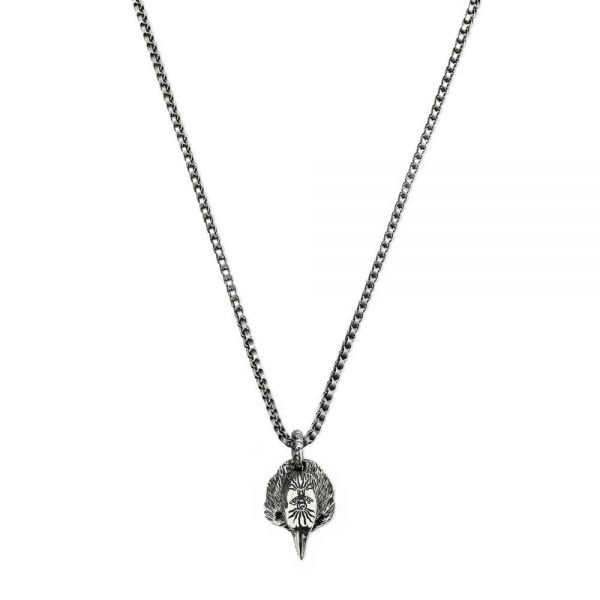967bf06bf Gucci Anger Forest Silver Eagle Head Pendant