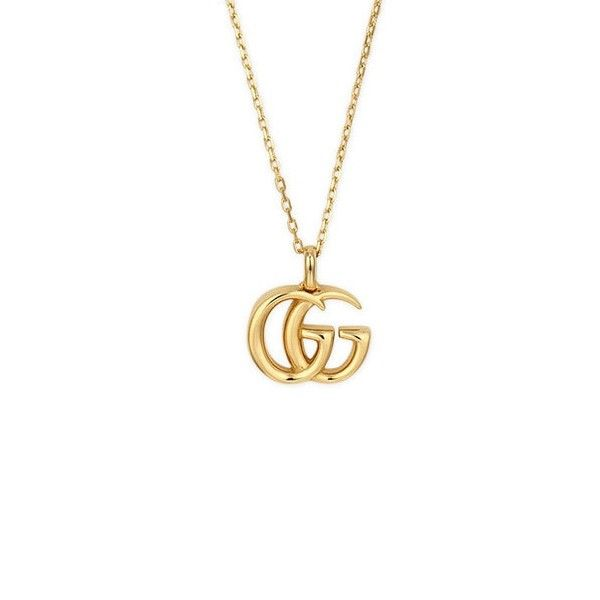 Gucci 18ct Gold Running G Necklace