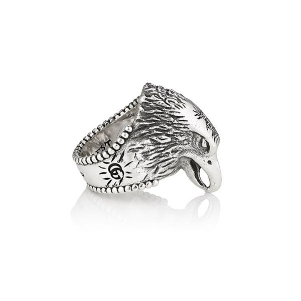 Gucci Anger Forest Eagle Head Ring