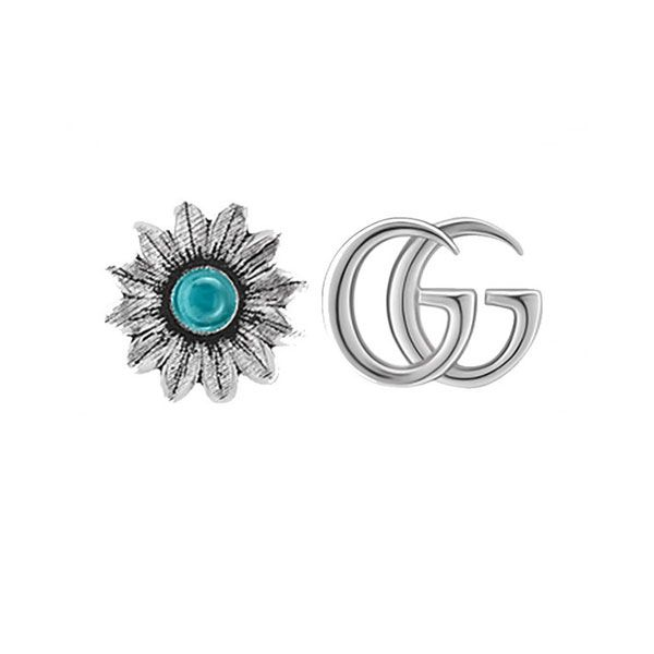 fdff8a44a Gucci GG Marmont Flower Stud Earrings