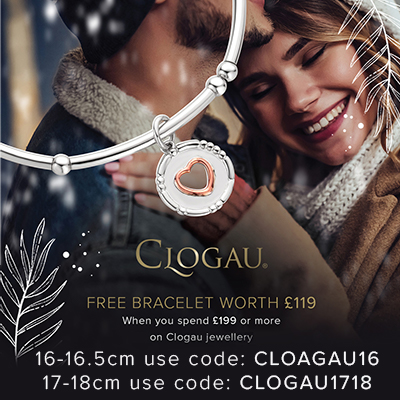 Clogau Free Gift when you spend over £199