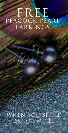 Peacock Pearl Earring Offer